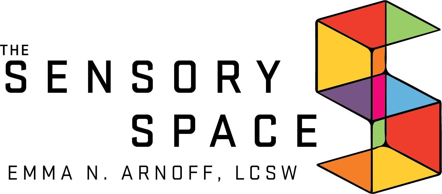 Logo for The Sensory Space by Emma N. Arnoff, LCSW
