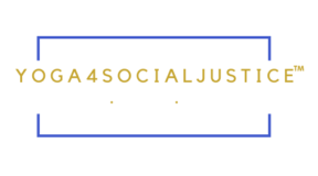 Yoga4SocialJustice™ Transparent Logo_Dark Background